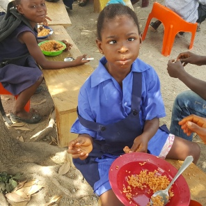Pictures from this year's meal in Kono